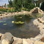Пруд с водопадом в вашем саду