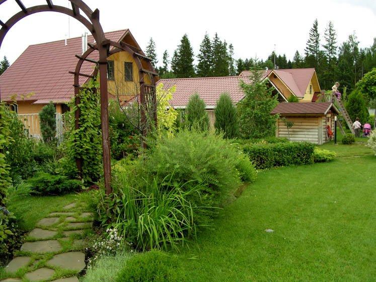 Озеленение сада и дизайн двора Pic2
