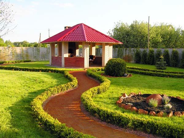 Ландшафтные работы в КиевеЛандшафтный дизайн в Киеве, заказать проект ландшафтного дизайна — «Киев Сад»