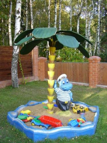 Детская площадка своими руками размеры фото 446