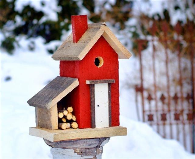 Дома для птиц своими руками