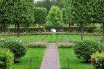 Поляна в саду