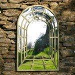 Зеркальный декор сада