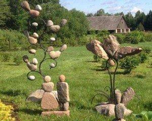 Каменная абстракция. Ландшафт.