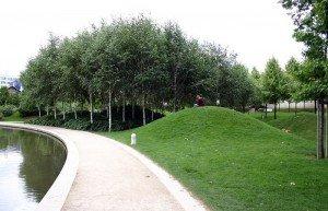 Парк Берси в Париже