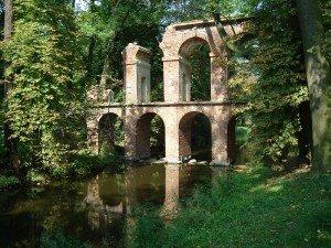 Романтические руины. Аркадия. Польша.