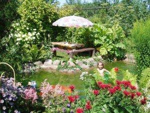 Неправильные пропорции в саду