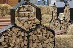 Организация места хранения дров.