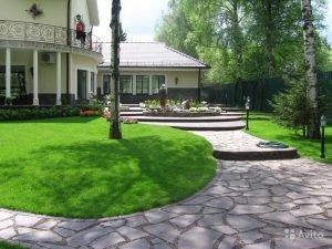 газон и мощение 2