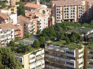 Зеленые крыши в Европе