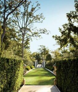 Зоны итальянского сада