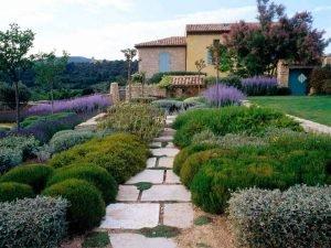 Сад в стиле Прованс 1