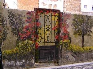 фрески на заборе