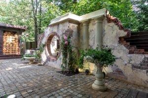 Декоративные руины. Античность