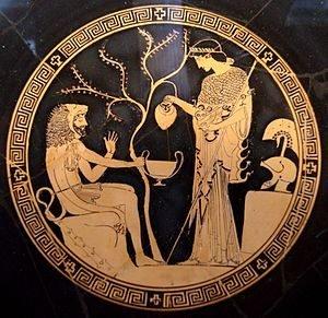 Краснофигурная роспись керамики. Древняя Греция