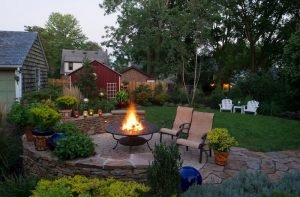 садовый очаг 2
