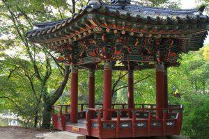 Традиционная беседка Кореи