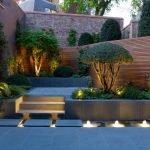 Приемы садового освещения