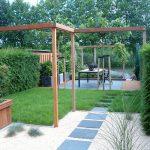 Сад в стиле минимализм.