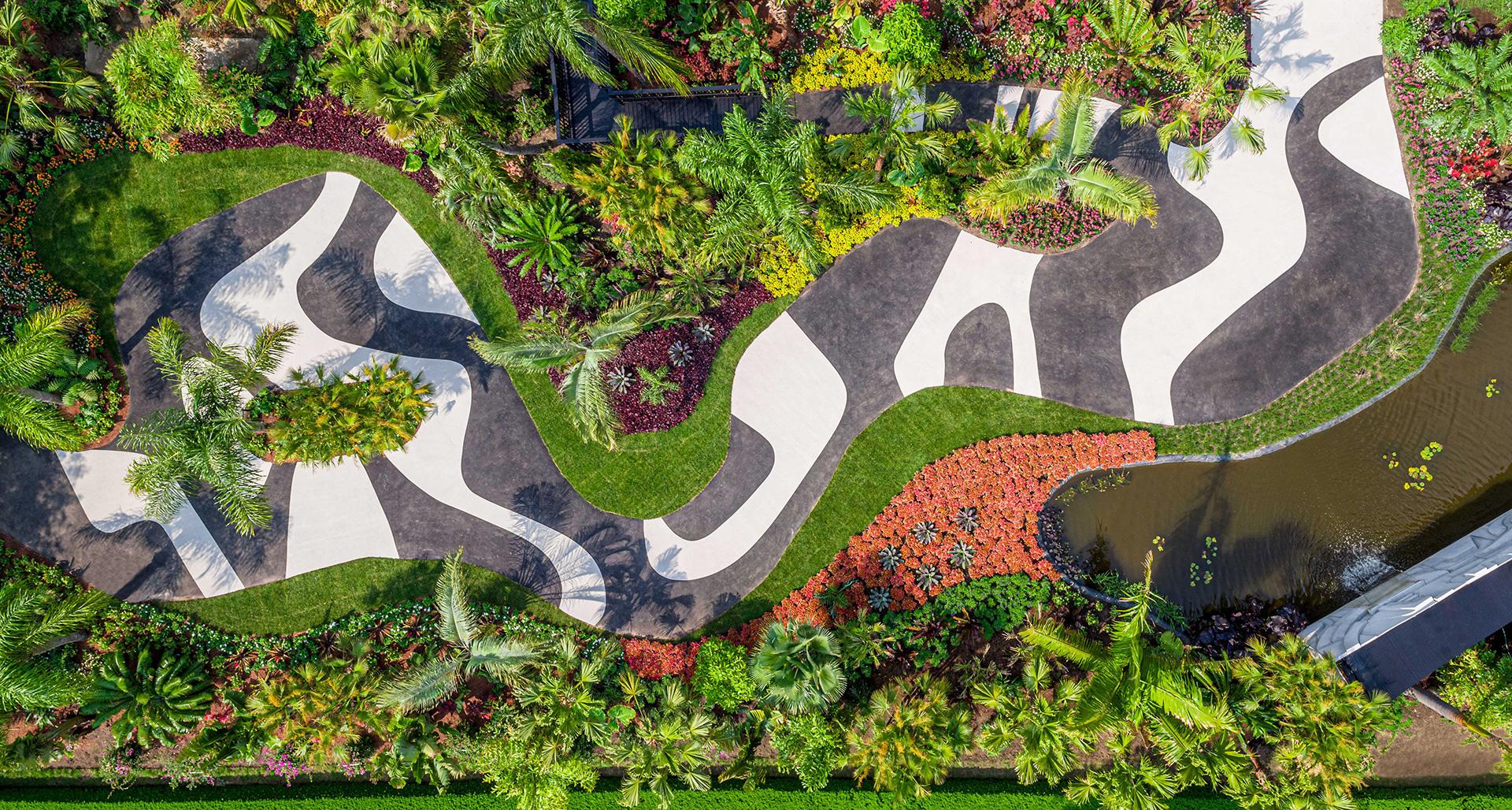 Ботанический сад Нью Йорка.