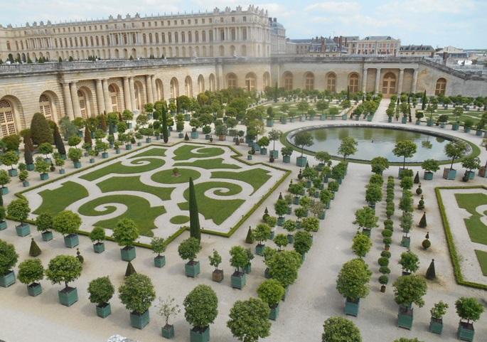 Версаль двор цитрусовых