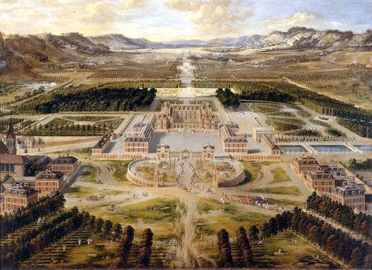 Планировка Версаля фото