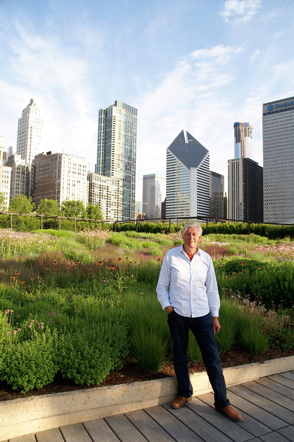 Сад Лури в Чикаго