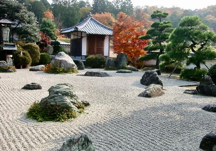 Японский сад при музее Мориками в США