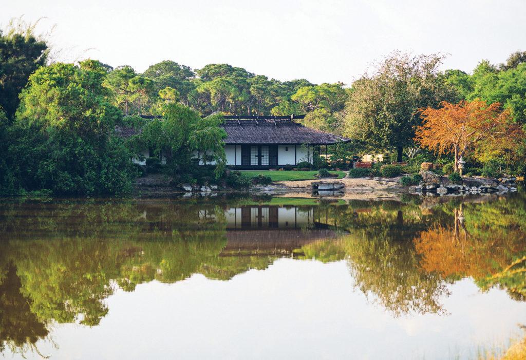 Японский сад при музее Мориками 2