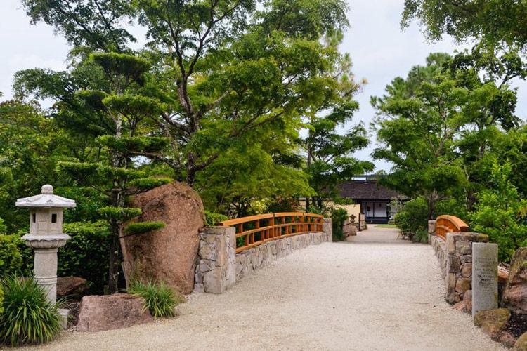 Японский сад при музее Мориками