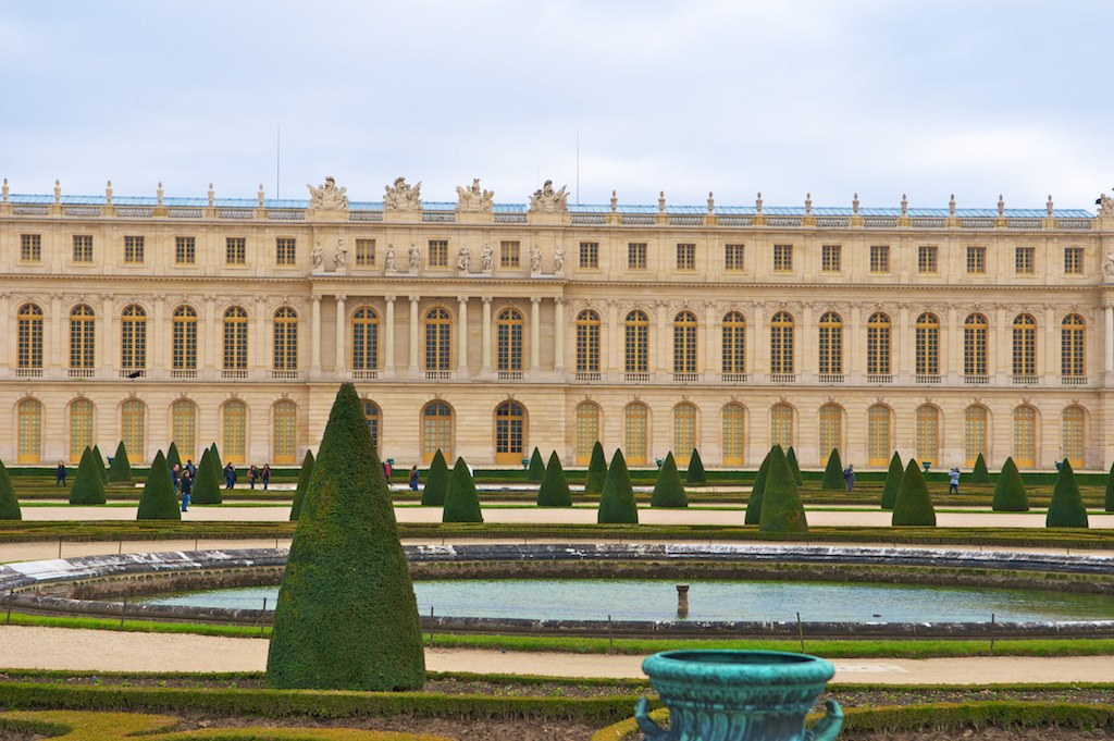 Дорожки Версаля