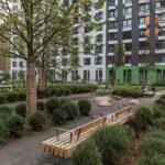 Озеленение дворов многоквартирных домов